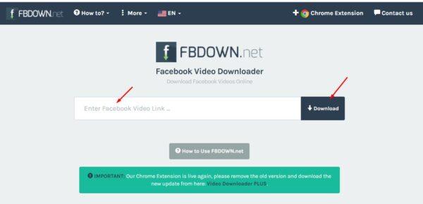تحميل الفيديو من الفيس بوك للكمبيوتر بجودة عالية